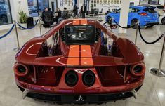 Ford Gt Liquid Red With Launch Control Interior
