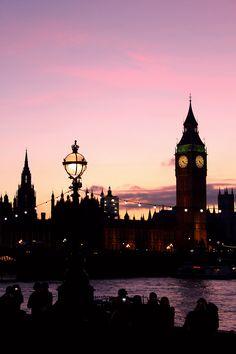 London ona  beautiful June evening