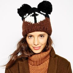 #aliexpress, #fashion, #outfit, #apparel, #shoes 2015, #spring, #<font><b>summer</b></font>, #playful, #cartoon, #teddy, #bear, #fur, #ball, #decorated, #ears, #warm, #wool, #cap, #haoduoyi, #Hats, #Caps, #Skullies, #Beanies, #A2093 http://s.click.aliexpress.com/e/AiAEqzVBy