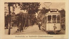 Endhaltestelle am Stadtwald *4