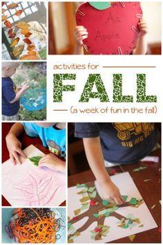 A Week of Fun in the Fall