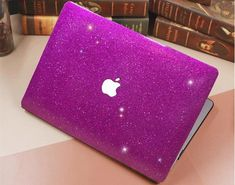 This is a Bling and Glittery MacBook Case for your MacBook Air or Pro. Available for MacBook Air and MacBook Pro. Comes with both top case and bottom case and both of them are glittery. It is a hard case which willl not only bling your MacBook time but also could protect your MacBook from any damage.