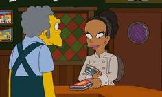 La literatura nigeriana llega a Los Simpsons. En su último capítulo Moe lleva de tour por Springfield a una princesa nigeriana. Como gratitud, esta decide regalarle tres libros de los escritores nigerianos más destacados: Ben Okri, Chinua Achebe y Chimamanda Ngozi Adichie. #Nigeria #Literatura #Simpsons