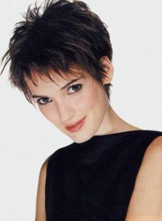 Starlets with really short hair - LOVE THIS SHAPE & SPIKEY STYLE - would need to be longer for me-SR