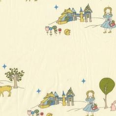 Birch Fabrics Storybook fabric at Purl Soho, love the whole range.