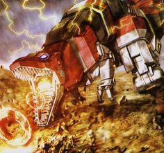 Tyranno Zord from MMPR
