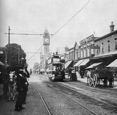 via Rathmines in 1912 Old Pictures, Old Photos, Vintage Photos, Irish Redhead, Irish Independence, Photo Engraving, Dublin City, Irish Celtic, Dublin Ireland