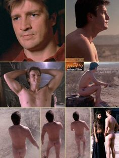 Naked Nathan Fillion