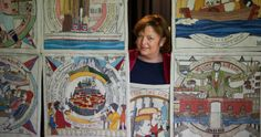 First panels of Scottish diaspora tapestry unveiled — The Official Gateway to Scotland