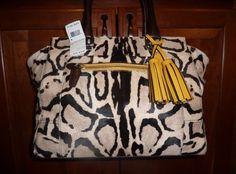Coach Ocelot Legacy Haircalf Leather Medium Candace Carryall 21166 $1 400 NWT | eBay