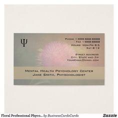 35 best psychologist psychiatrist business cards images on floral professional psychologist counselor business custom check out more business card designs at http colourmoves