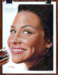 Color pencils Faber Castell Polychromos and Caran d'Ache Pablo on Schoeller paper 300 gr. - 30 x 40 cm.- About 30 hours.