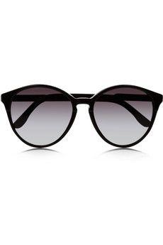 Cat eye acetate sunglasses (€175.00) - Svpply