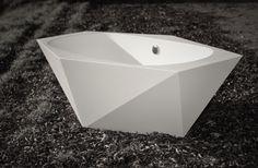 Diamond Cut Bath Tub Design and Creation by Mobitim bvba