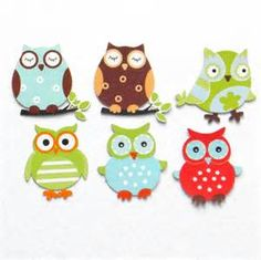 Cute Owl Cut Outs - Bing images