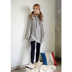 Buy 'DEEPNY – Long-Sleeve Pullover Dress' with Free Shipping at YesStyle.com.au. Browse and shop for thousands of Asian fashion items from South Korea and more!