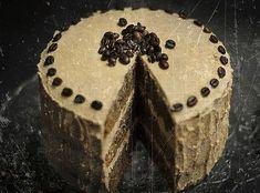 Kávétorta Sweet Recipes, Oreo, Brownies, Tart, Cupcake, Good Food, Food And Drink, Desserts, Macaron