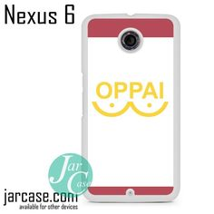 One Punch Man Oppai Phone case for Nexus 4/5/6