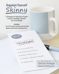 The Organize Yourself Skinny Ebook is FINALLY available! This ebook talks about the 5 weight loss strategies that I used to lose 40lbs and sustain that weight loss for over 3 years now. I also provide a getting started checklist and BONUS 4 week make ahead meal plan! I know this ebook is going to inspire and motivate many many people to finally succeed at their weight loss goals!