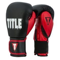 Title Dynamic Strike Heavy Bag Gloves, Black