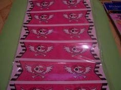 Pink Skull Stickers
