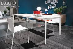 Table extensible DUBLINO, 100 - 140 x 70 cm, Design By BONTEMPI CASA