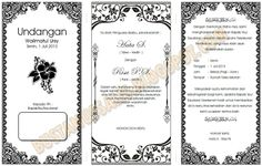 Download Template Undangan Walimatul Ursy Tahlil Dan Aqiqah Dengan