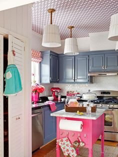 A Modern, Coastal Kitchen Remodel (On a Budget) DIY Kitchen Design Ideas - Kitchen Cabinets, Islands, Backsplashes DIY Budget Kitchen Remodel, Kitchen On A Budget, Remodel Bathroom, Bathroom Wall, Old Kitchen, Kitchen Decor, Kitchen Ideas, Colonial Kitchen, Eclectic Kitchen