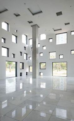 Windows all around... - Cube Tube from Sako Architects