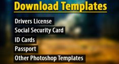 Id Card Template, Receipt Template, Driver License Online, Driver's License, Drivers License California, Bingo Card Generator, Payroll Template, Student Learning, Psd Templates