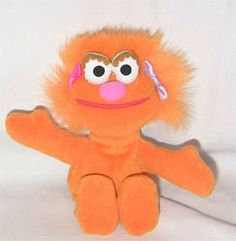 #Zoey #SesameStreet #PlushZoeyBeanie #Beanie Toy  Plush Sesame Street Beanie Zoey