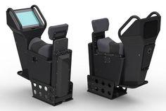 Siège jockey / pour bateau / avec suspension / ajustable - SWP-1027 - Shockwave Seats