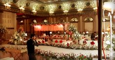 Best thematic wedding planner flower stage decoration lighting catering services provider in Lahore Pakistan | Tulips Event