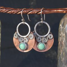 Hey, I found this really awesome Etsy listing at https://www.etsy.com/listing/222331579/sterling-silver-copper-and-variscite