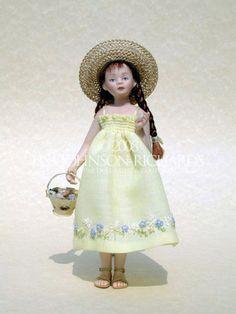 Lisa Johnson-Richards, Miniature Doll Artist & Couturiere