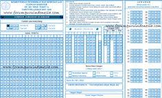 Contoh Format Ljk Lembar Jawab Komputer Download Contoh Ljk Ljk Lembar Jawab Komputer Ljk Ujian Nasional Ujian Unbk Usbn Un U Pendidikan Komputer Smp