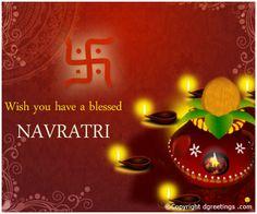 Dgreetings - Happy Navratri  Wishes Card