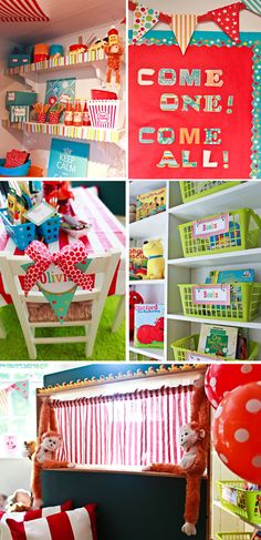 I love this carnival theme classroom. I can't wait to decorate my own! :)