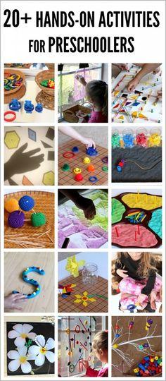 20+ Hands-On Activities for Preschoolers and a SPIELGABEN GIVEAWAY!
