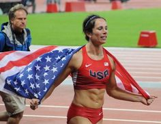 Jennifer Suhr and Kirani James begin parade of Olympic champions