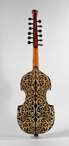 "The Craft of Musical Instruments — ""Viola d'Amore"", ca. early 1700s Unknown (Southern..."