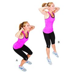 To get rid of cellulite on the buttocks and strengthen the muscles in this area, here are some simple exercises against this enemy of the women. 30 Min Workout, Butt Workout, Cardio Workouts, Fast Weight Loss, Weight Loss Tips, Losing Weight, Yoga Fitness, Fitness Tips, Burn 100 Calories