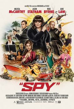 """Spy"" (2015) - Dear Molly, you looked fabulous in the dress."