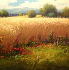 Image result for cornfield paintings