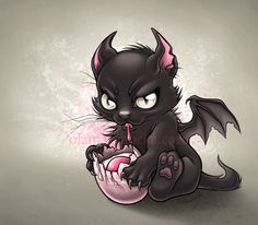 Dragon Kitty