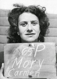 Carmen Mory, infamous at Ravensbruck for her brutality, was a blockova (inmate) and Gestapo spy. Convicted of war crimes, she suicided before her execution.