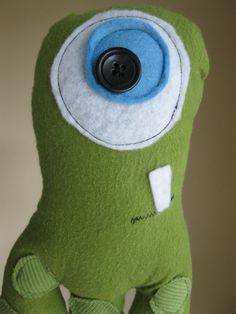 Monster Doll  Trevor by twindragonflydesigns on Etsy, $20.00