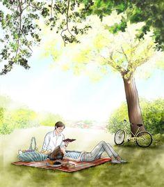 Cute Couple Cartoon, Cute Couple Art, Anime Love Couple, Cute Anime Couples, Cute Cartoon Wallpapers, Cute Wallpaper Backgrounds, Couple Illustration, Illustration Art, Sketches Of Love