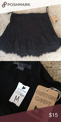Black dress skirt Black dressy skirt never worn! Not sure the brand but I got it from a little boutique Skirts