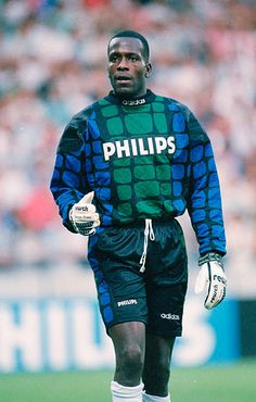 6th August 1994 Stanley Menzo PSV Eindhoven goalkeeper